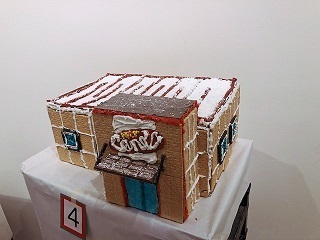 Raising Cane's Gingerbread House