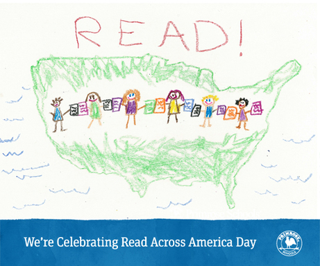 Read Across America Day Website and Facebook Graph